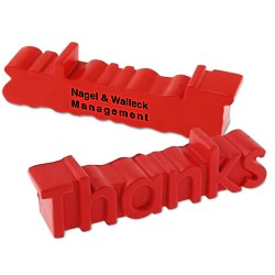 View a larger, more detailed picture of the Thanks Word Stress Reliever - 24 hr