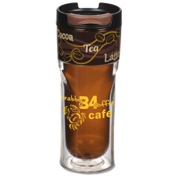 View a larger, more detailed picture of the Cool Gear Razor Cafe Tumbler - 14 oz - Closeout