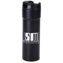 View a larger, more detailed picture of the Milano Travel Tumbler - 14 oz - Matte - 24 hr