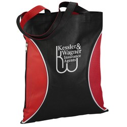 View a larger, more detailed picture of the Side Zip Tote - Closeout