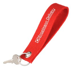 View a larger, more detailed picture of the Felt Key Strap - Closeout