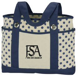 View a larger, more detailed picture of the Audrey Fashion Tote - Screen - 24 hr