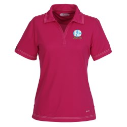 View a larger, more detailed picture of the Tasman Triple Stitch Performance Polo - Ladies - 24 hr