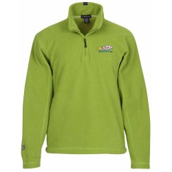 View a larger, more detailed picture of the Landmark 1 4 Zip Microfleece Pullover - 24 hr