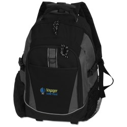 View a larger, more detailed picture of the Optimus Wheeled Backpack - Embroidered