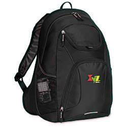 View a larger, more detailed picture of the Quest Computer Backpack - Embroidered