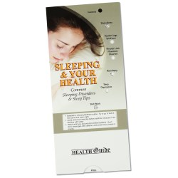 View a larger, more detailed picture of the Sleeping & Your Health Pocket Slider - Closeout