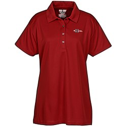 View a larger, more detailed picture of the Jerzees Sport Micro Mesh Sport Shirt - Ladies