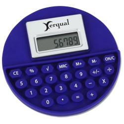 View a larger, more detailed picture of the Round Flexi Calculator - Closeout