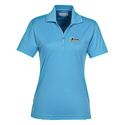 View a larger, more detailed picture of the Moreno Textured Micro Polo - Ladies - TE Transfer