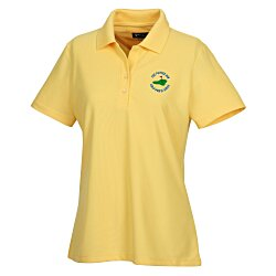 View a larger, more detailed picture of the Greg Norman Play Dry Performance Mesh Polo - Ladies