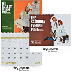 View a larger, more detailed picture of the Saturday Evening Post Norman Rockwell Calendar - Spiral