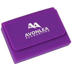 View a larger, more detailed picture of the Silicone Business Card Holder - Closeout