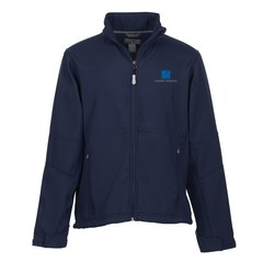 View a larger, more detailed picture of the Cavell Soft Shell Jacket - Men s - TE Transfer