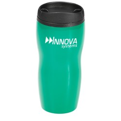 View a larger, more detailed picture of the Ceramic Style Tumbler - 16 oz - Closeout