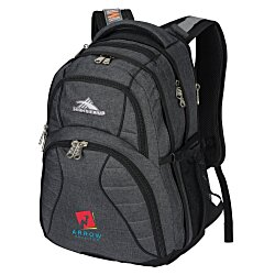 View a larger, more detailed picture of the High Sierra Swerve Laptop Backpack - Embroidered