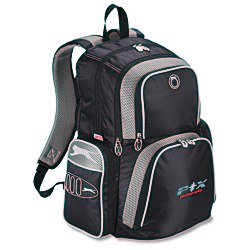 View a larger, more detailed picture of the Slazenger Turf Series Laptop Backpack - Embroidered