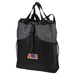 View a larger, more detailed picture of the Eclipse Backpack Tote - Embroidered