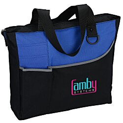 View a larger, more detailed picture of the Metropolis Meeting Tote - Embroidered