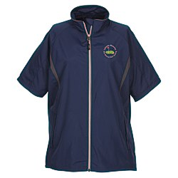 View a larger, more detailed picture of the Banos Short Sleeve Full Zip Jacket - Ladies