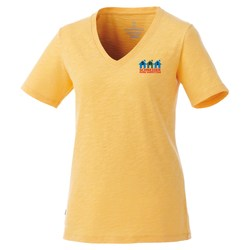 View a larger, more detailed picture of the Lyell Ringspun Slub Tee - Ladies - TE Transfer
