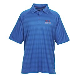 View a larger, more detailed picture of the Shima Stripe Moisture Wicking Polo - Men s