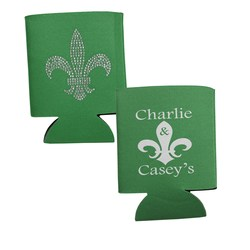 View a larger, more detailed picture of the Bling Coolie - Fleur de Lis