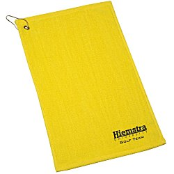 View a larger, more detailed picture of the Hemmed Golf Towel - 11 x 18