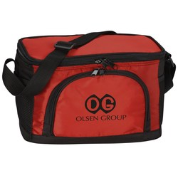 View a larger, more detailed picture of the Jacquard Insulated Lunch Bag - Closeout