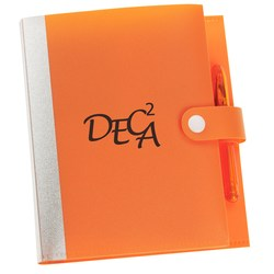 View a larger, more detailed picture of the Mini Jotter Notebook Organizer - Closeout