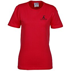View a larger, more detailed picture of the Essential T-Shirt - Ladies - Colors