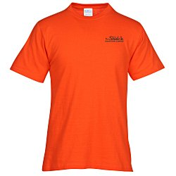 View a larger, more detailed picture of the Port Tagless 5 4 oz T-Shirt - Colors