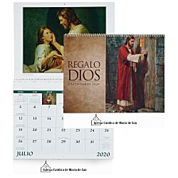 View a larger, more detailed picture of the God s Gift Calendar - Funeral Planning - Spanish