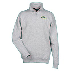 View a larger, more detailed picture of the Viewpoint 1 4 Zip Knit Pullover - Embroidery