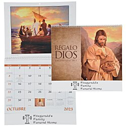 View a larger, more detailed picture of the God s Gift Calendar - Spanish