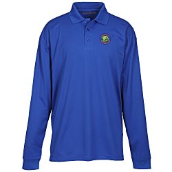 View a larger, more detailed picture of the Blue Generation LS Snag Resistant Wicking Polo - Men s