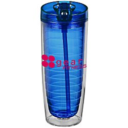 View a larger, more detailed picture of the Hot & Cold Flip N Sip Tumbler - 20 oz - 24 hr