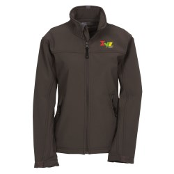 View a larger, more detailed picture of the Basin Soft Shell Jacket - Ladies - 24 hr
