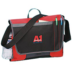 View a larger, more detailed picture of the Transit Messenger Bag - Embroidered