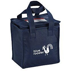 View a larger, more detailed picture of the Square Non-Woven Lunch Bag - 24 hr