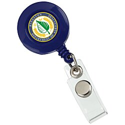View a larger, more detailed picture of the Retractable Badge Holder - Alligator Clip - Opaque
