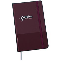 View a larger, more detailed picture of the Matte Banded Journal - 8-1 4 x 5 - 24 hr