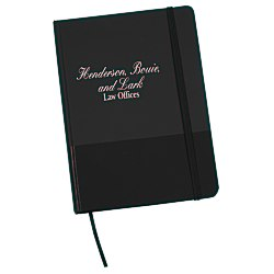 View a larger, more detailed picture of the Matte Banded Journal 7-1 8 x 5-1 8 - 24 hr