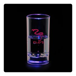 View a larger, more detailed picture of the Liquid Activated Light Up Shooter Glass - 2 oz