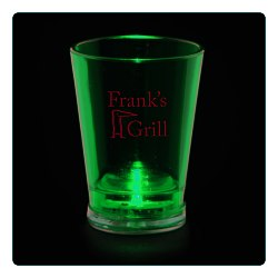 View a larger, more detailed picture of the Light Up Shot Glass - 2 oz