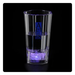 View a larger, more detailed picture of the Liquid Activated Light Up Fluted Shot Glass - 2 oz
