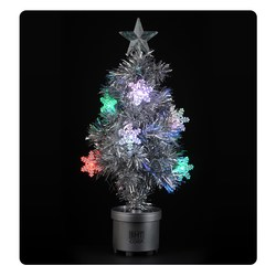 View a larger, more detailed picture of the Light Up Tree - 24 - Silver