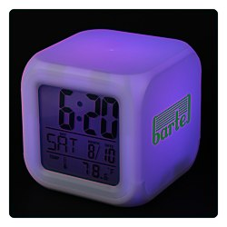 View a larger, more detailed picture of the Color Changing LED Alarm Clock