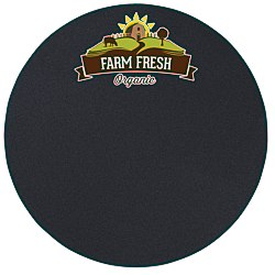 View a larger, more detailed picture of the Chalkboard Magnet - Circle - 11 Diameter