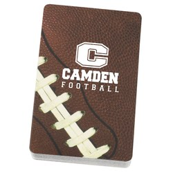 View a larger, more detailed picture of the Football Playing Cards